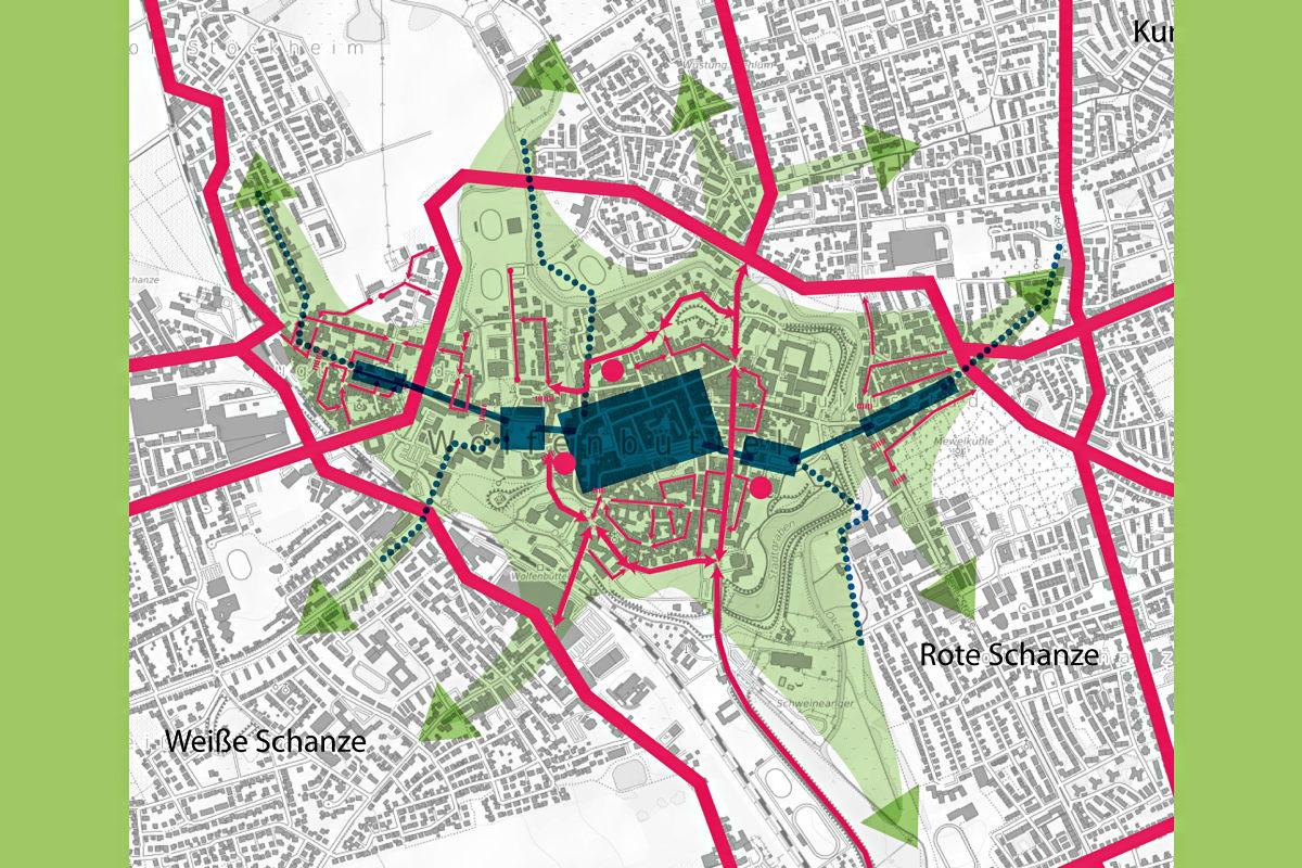 Kein Durchgangsverkehr, volle Erreichbarkeit, mehr Leben – Vorschläge für Wolfenbüttel am Beispiel der Auguststadt